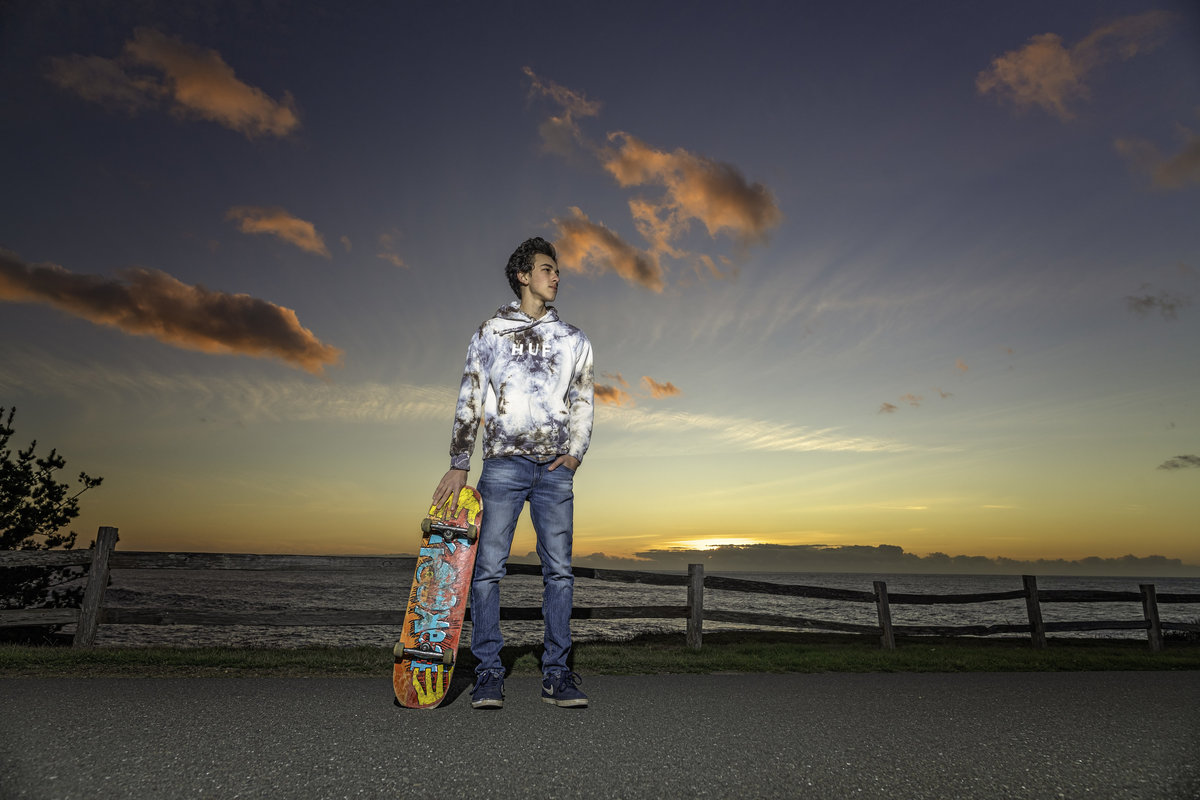 Redway-California-senior-portrait-photographer-Parky's-Pics-PhotographyHumboldt-County--Shelter-Cove-Black-Sands-Beach-sunset-skateboard-4.jpg
