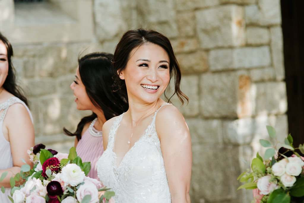 Smiling-Bride-Pasadena-Wedding