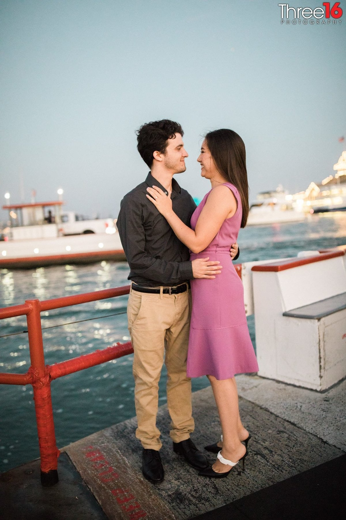 Balboa Island Engagement Photo Session Newport Wedding
