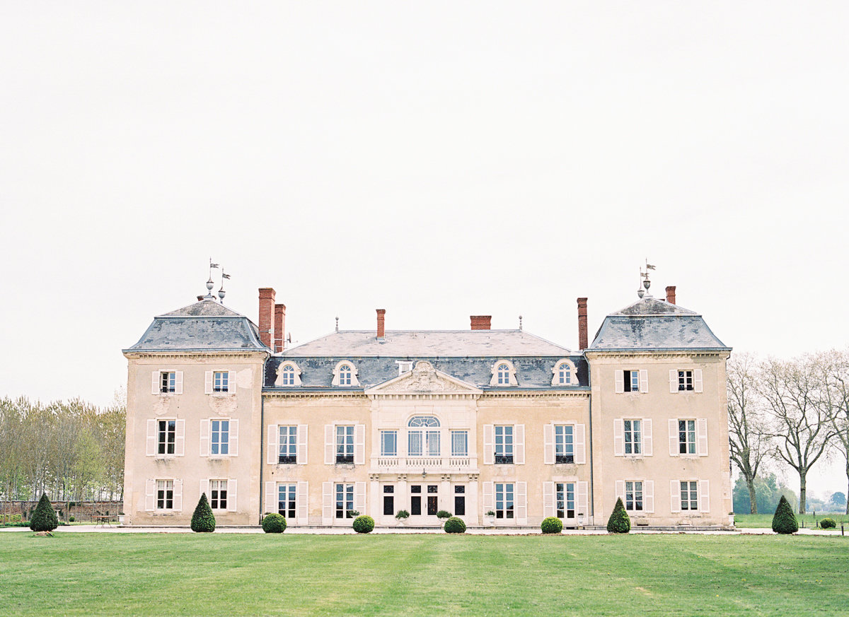 Destination Wedding Film Fine Art Photographer  France -French Chateau Elopement _ Hello Blue Photo -1