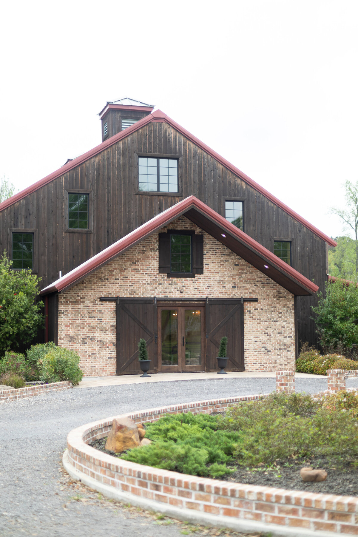 The Carriage House Reception Building Exterior