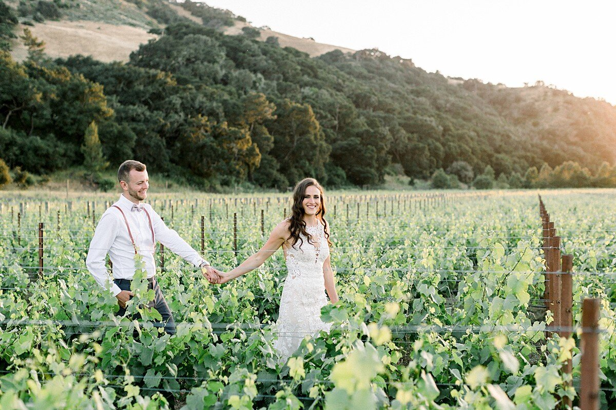 Wedding photography at sunstone winery in Santa Barbara.