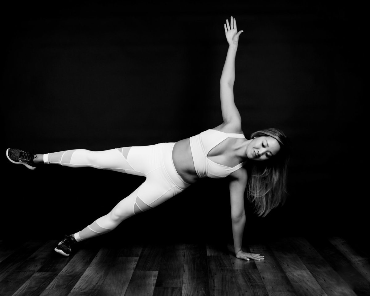 Fitness Photography with a Yoga Instructor, Lisa DeNeffe Photography