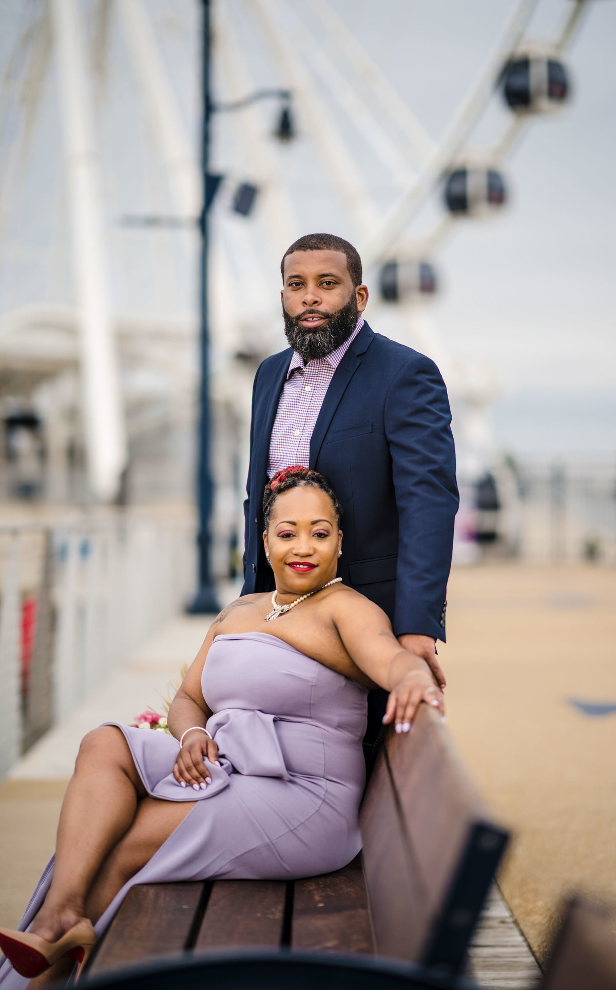Tameka and Kenny at National Harbor