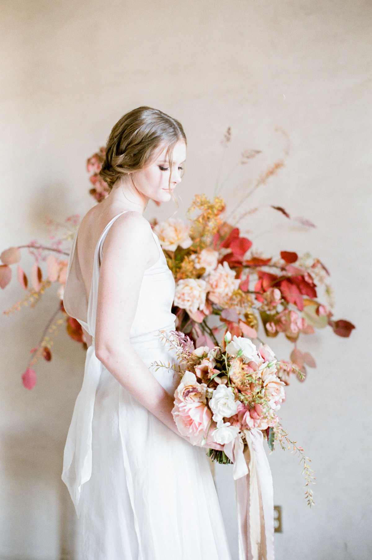 Blush Peach Wedding
