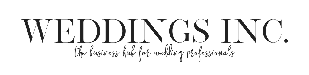 WEDDINGS INC website header