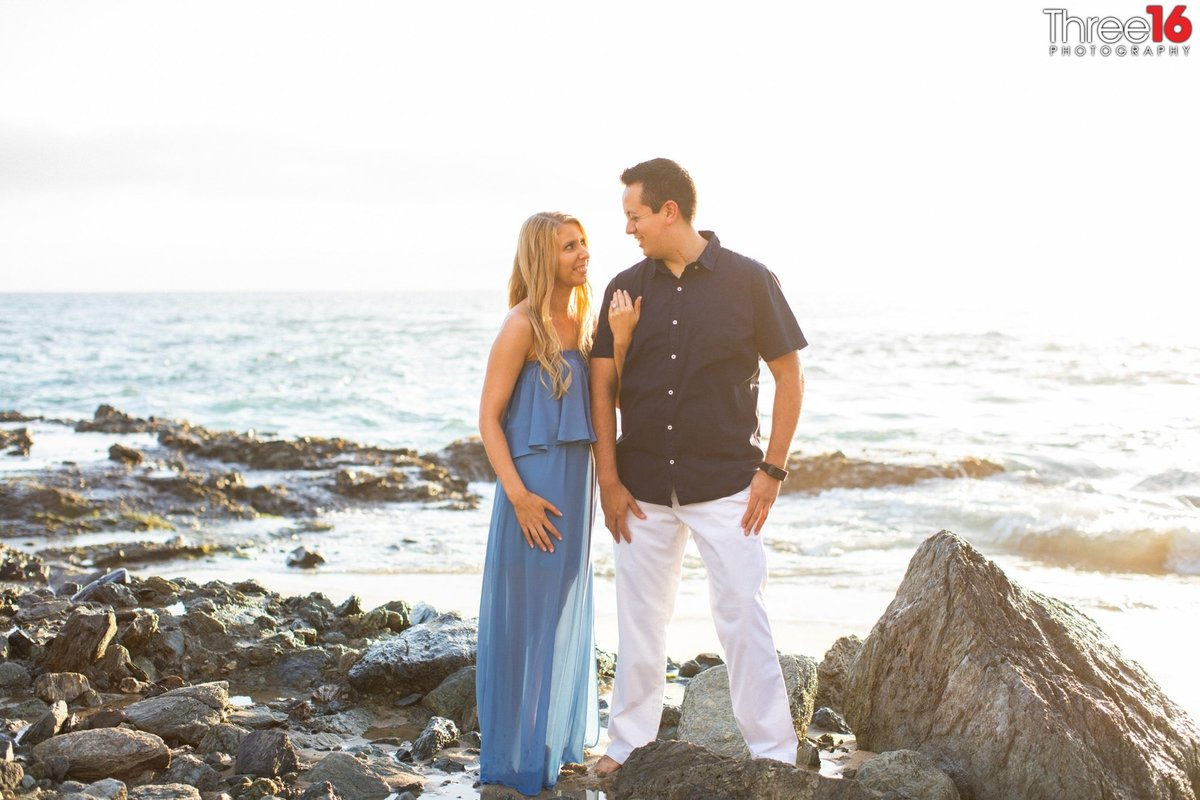 Table Rock Beach Engagement Beach Professional Photographer
