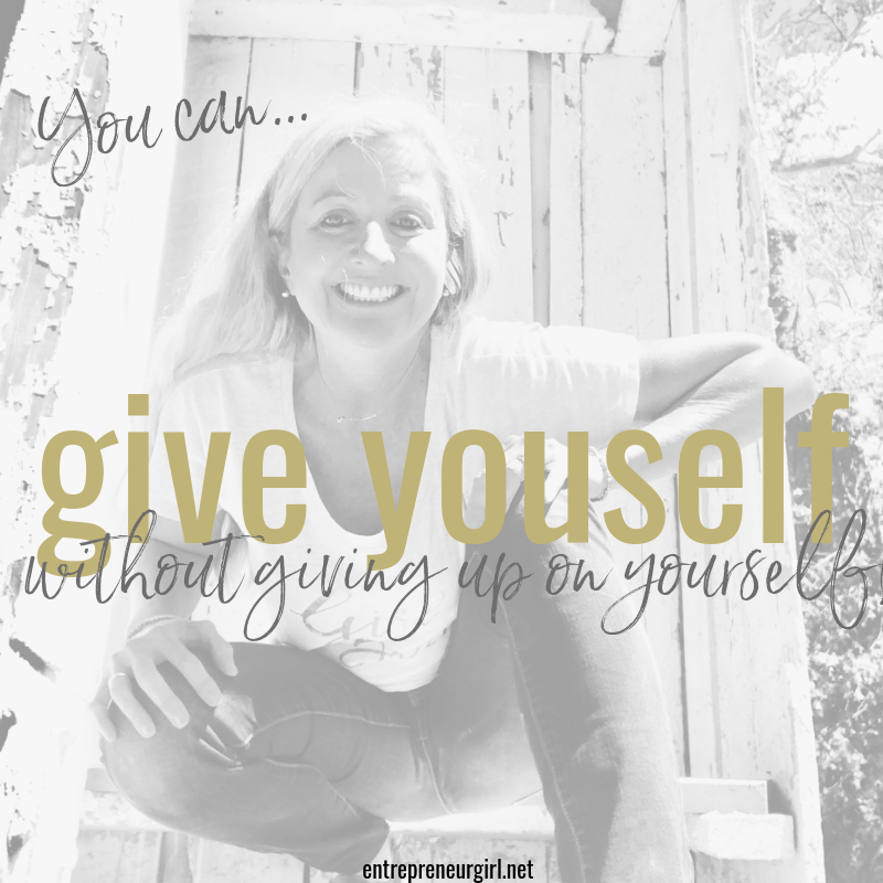 give youself