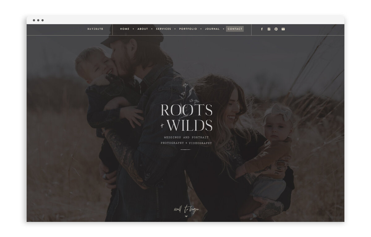 Roots and Wilds by Maggie Vetsch - Custom Brand and Showit Website Design by With Grace and Gold - Best Showit Designer - 17