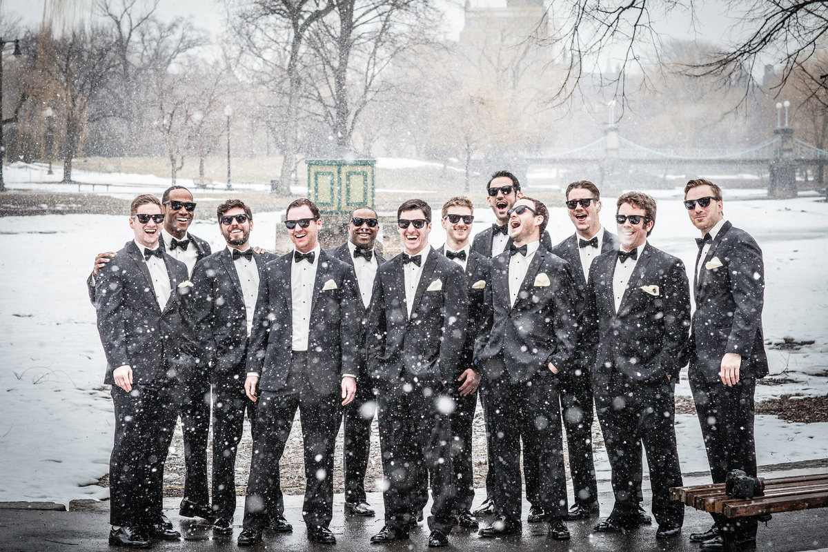 Chicago groomsmen