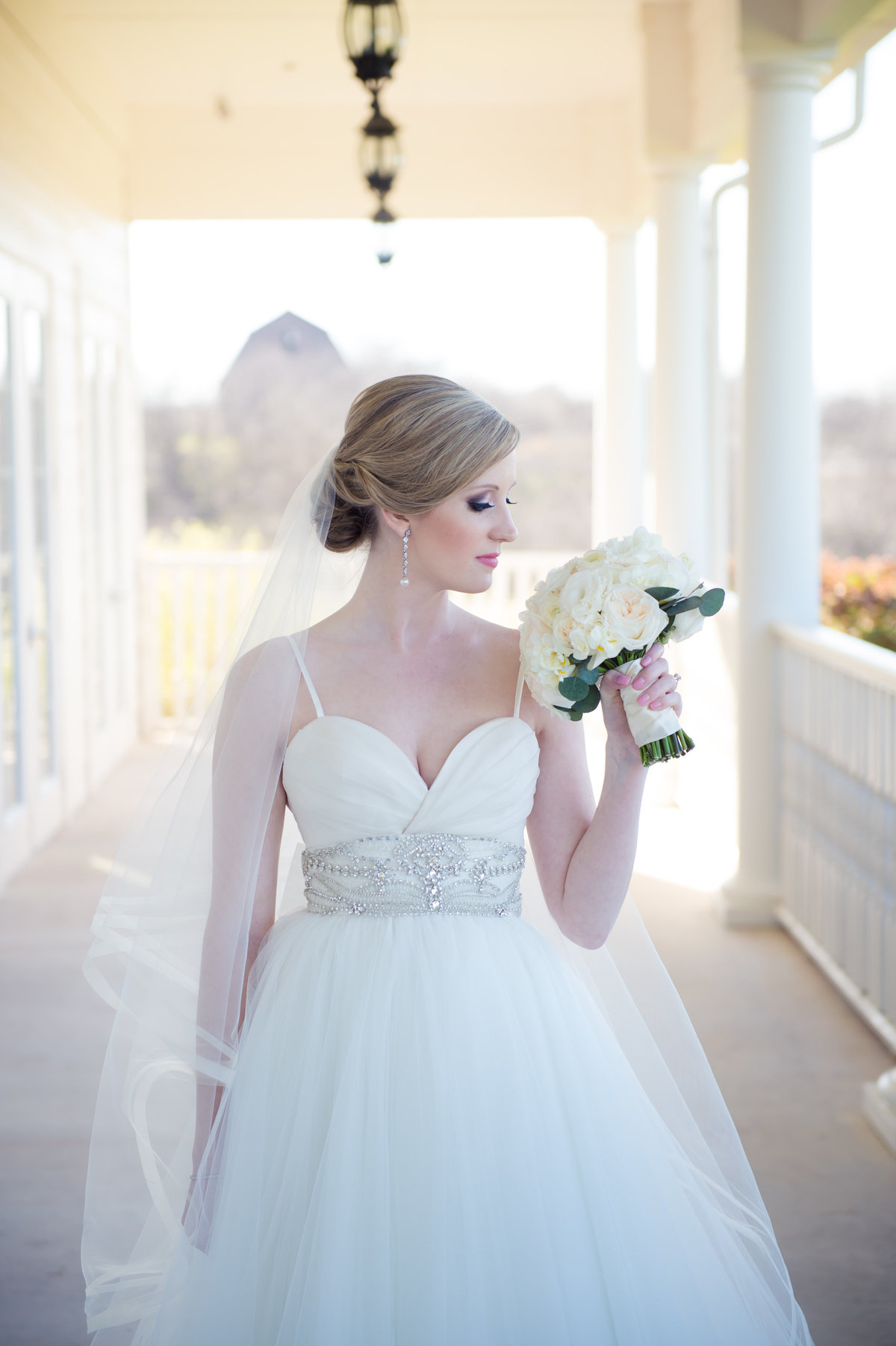 Bride at The Milestone Krum by Brittany Barclay Photography