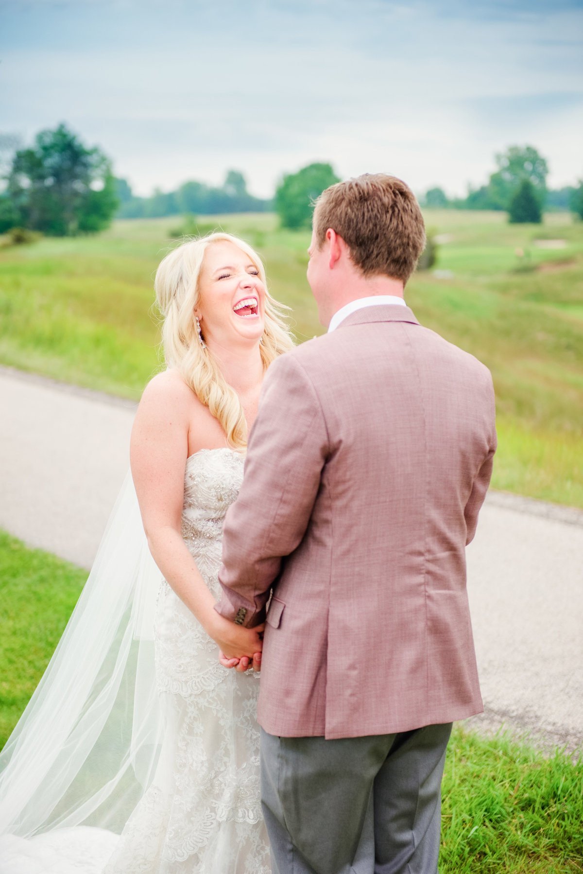 Arcadia Bluffs Golf Course Wedding Photography
