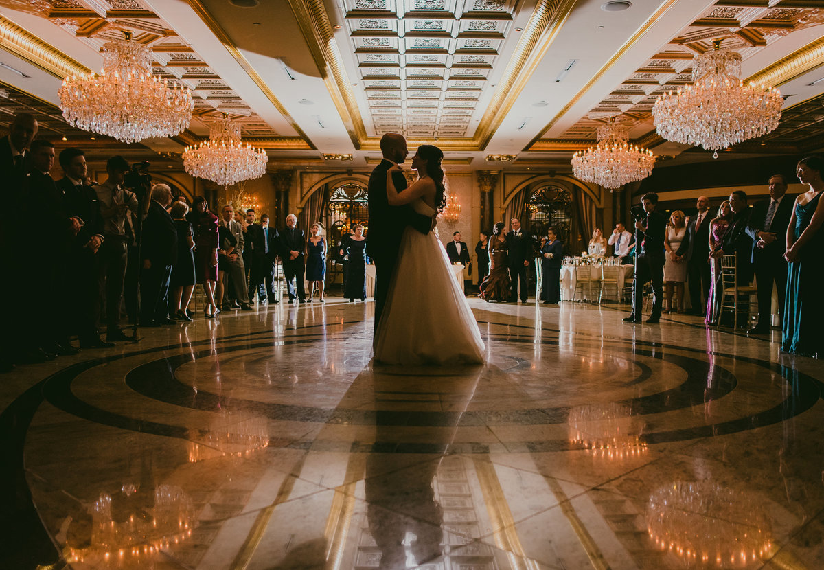 Jewish-American Wedding reception at the Venetian in Garfield, NJ photo by Tatiana Breslow Photography
