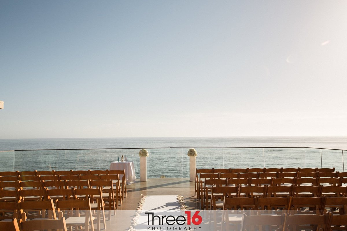 Surf & Sand Resort Wedding Ceremony