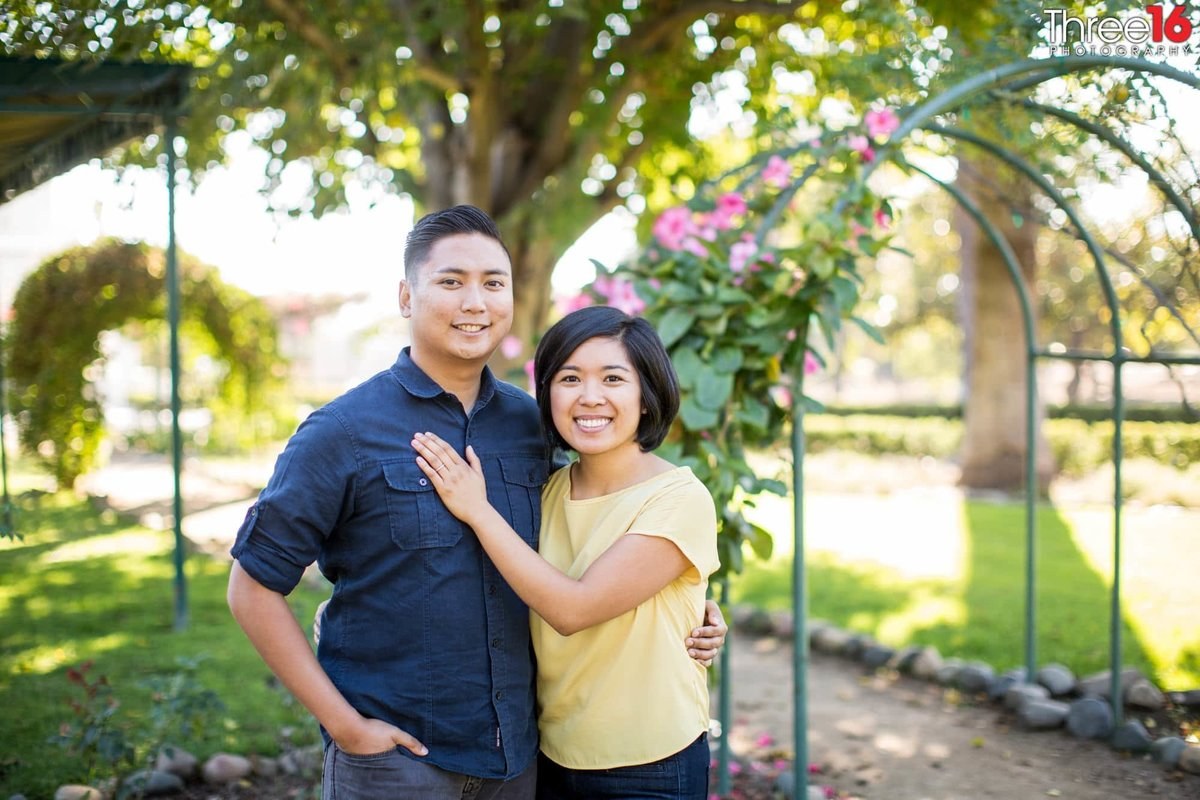 Katie Wheeler Library Engagement Photos Irvine Orange County Professional_2