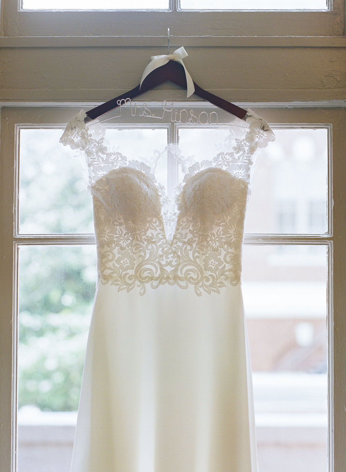 Wedding Gown at the Georgian Hall