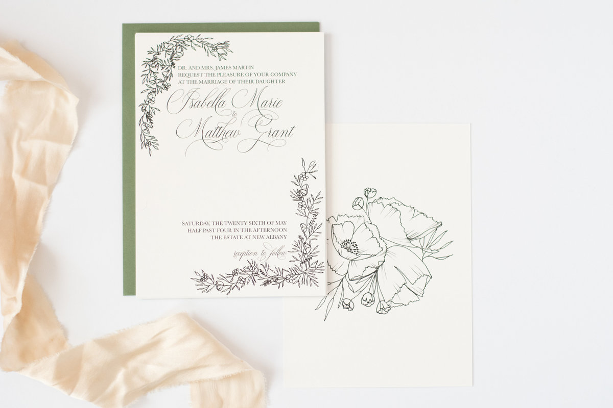 Poppy invitation
