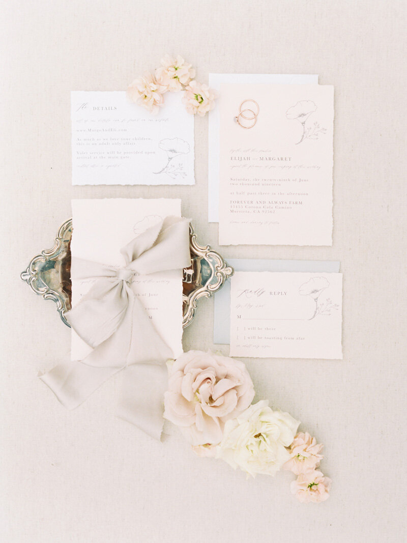 www.pirouettepaper.com |  Wedding Invitations, Calligraphy nd Wedding Stationery |Forever Always Farm Romona Wedding Wedding | _ Pirouette Paper Company | Savan Photography _ 28