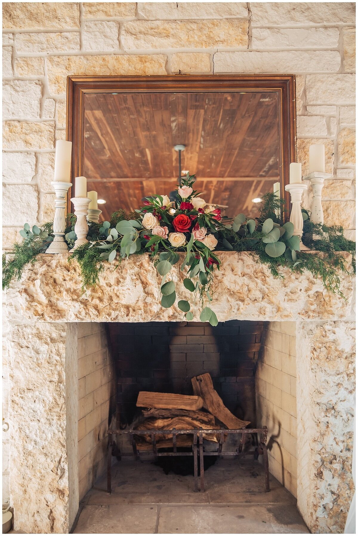 Rustic Burgundy and Blush Indoor Outdoor Wedding at Emery's Buffalo Creek - Houston Wedding Venue_0683