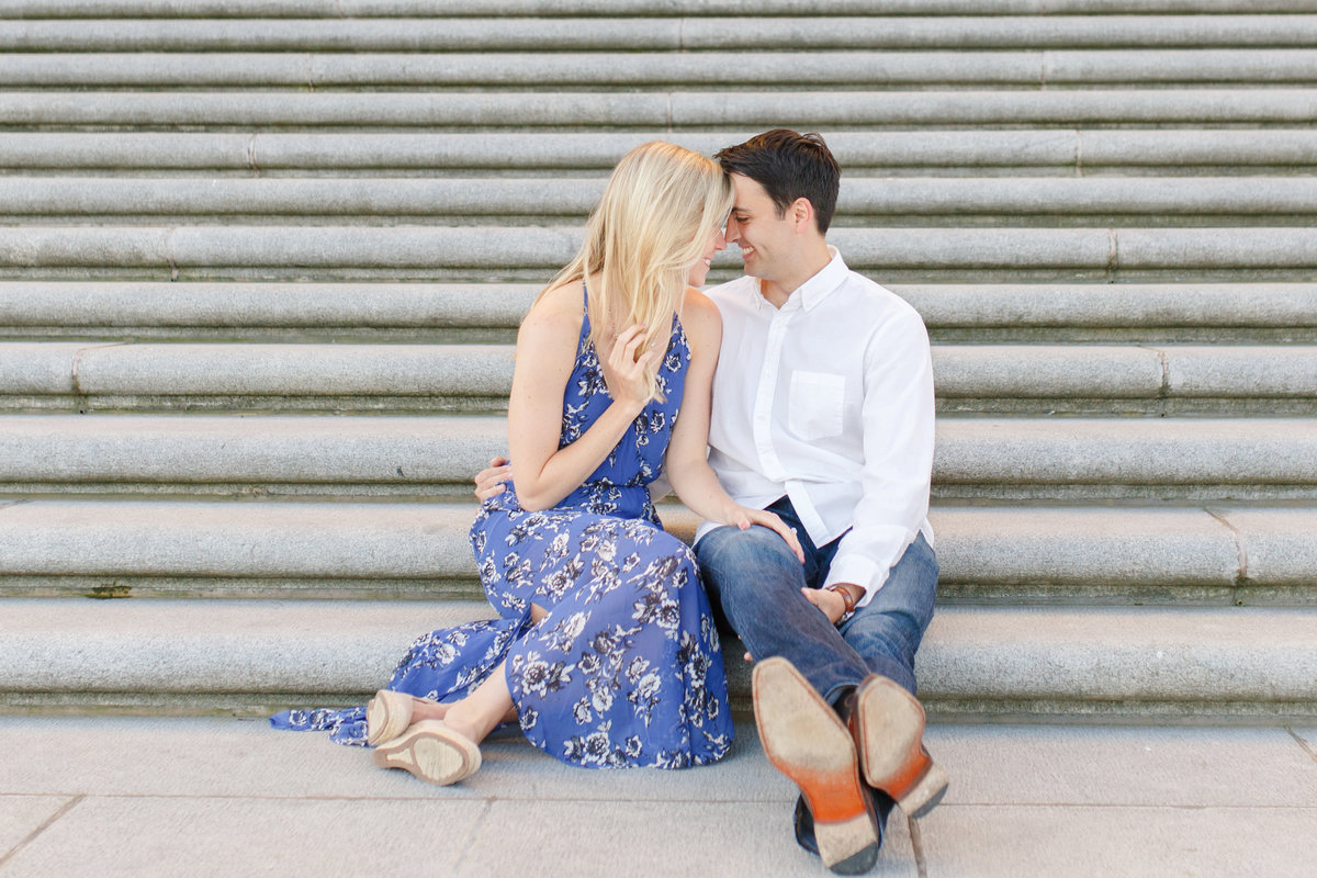 Indianapolis War Memorial Downtown Engagement Session Sunrise Sami Renee Photography-22