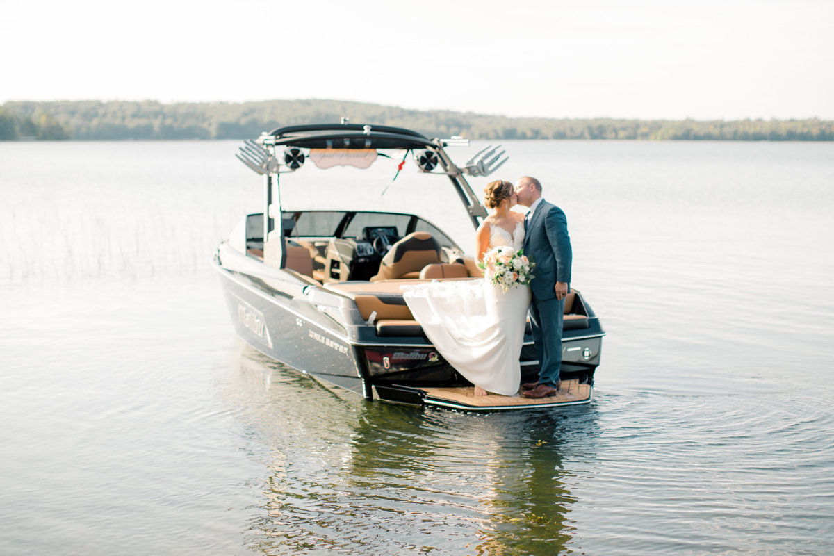 gull lake brainerd intimate wedding northwoods minnesota_