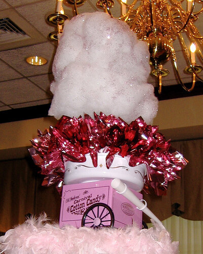 50_cotton candy centerpiece