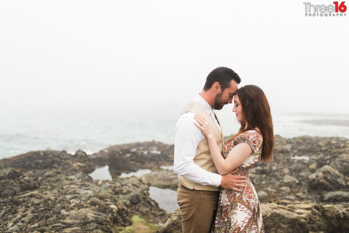 Table Rock Beach Engagement Beach Professional Weddings Photographer