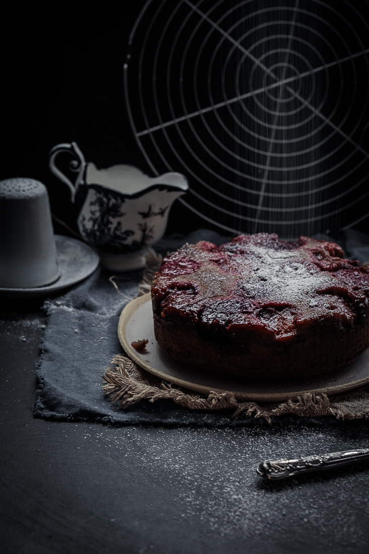 Plum Upside Down Cake | Anisa Sabet | The Macadames-3x-2