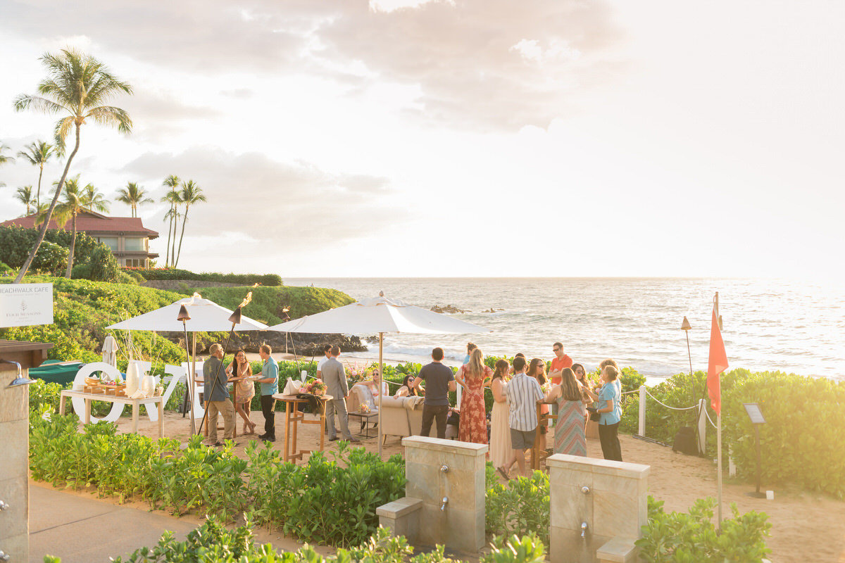maui vow renewal after party