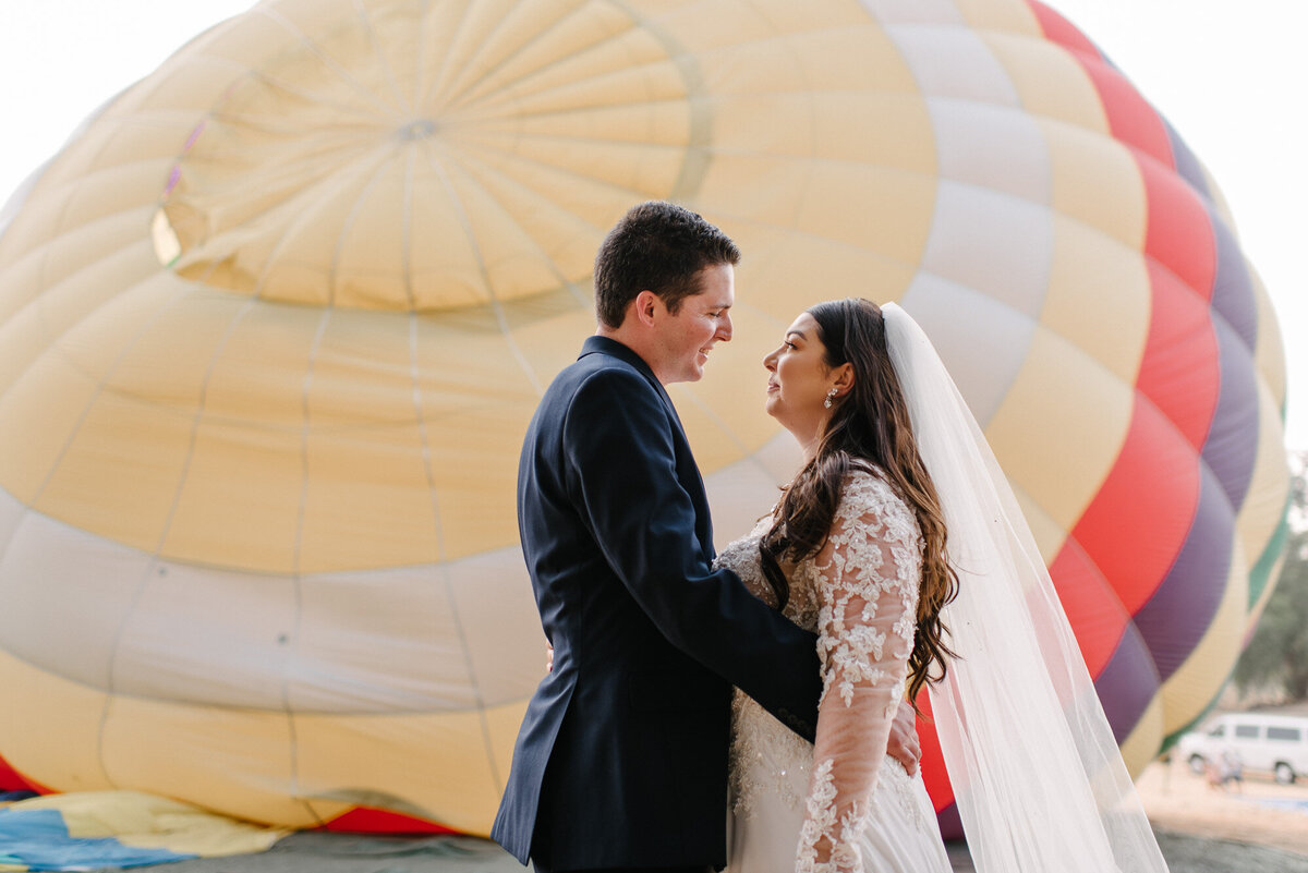 Hot Air Balloon Elopement Marie Monforte Photography-102