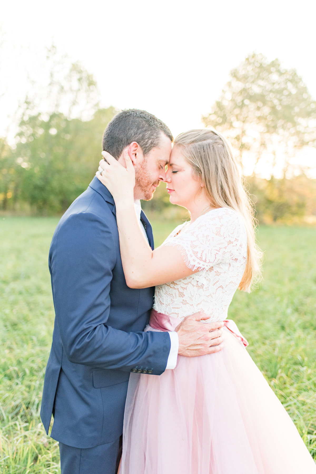 Cait Potter Creative LLC Open Field Rolling Greens Indianapolis Summer Engagement Photos-15