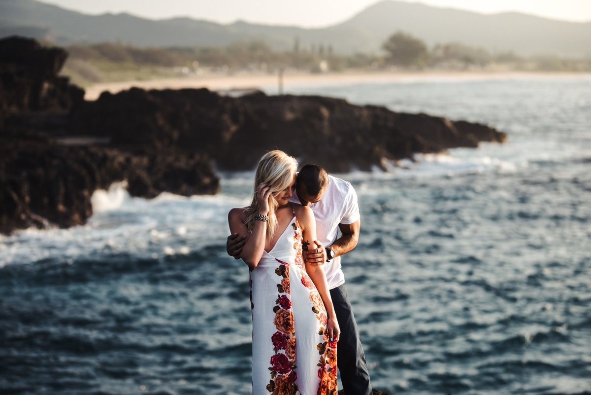 Eternity Beach Honolulu Hawaii Destination Engagement Session - 29