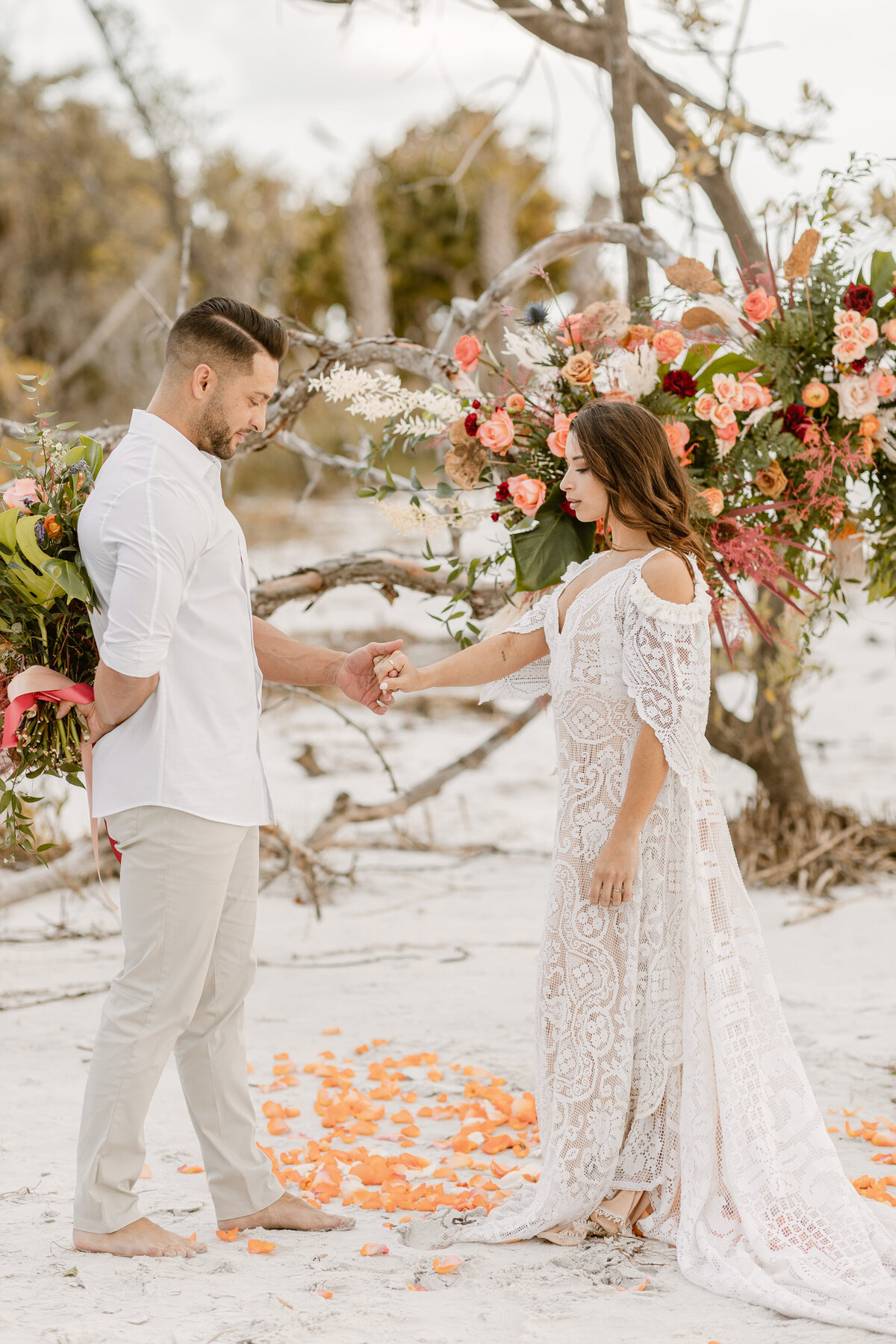 Beach Elopement in Saint Petersburg, Florida 6