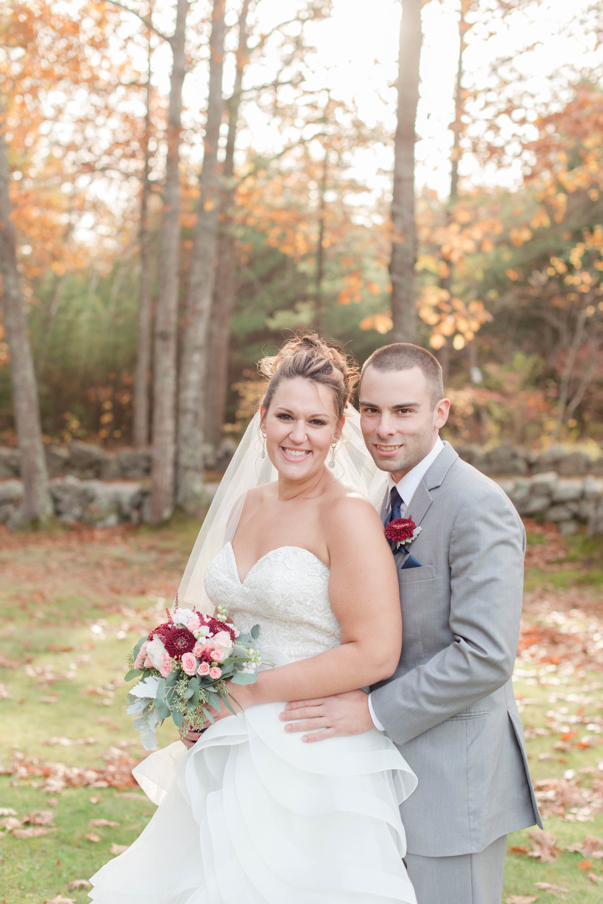 bride and groom photos at Clay Hill Farm