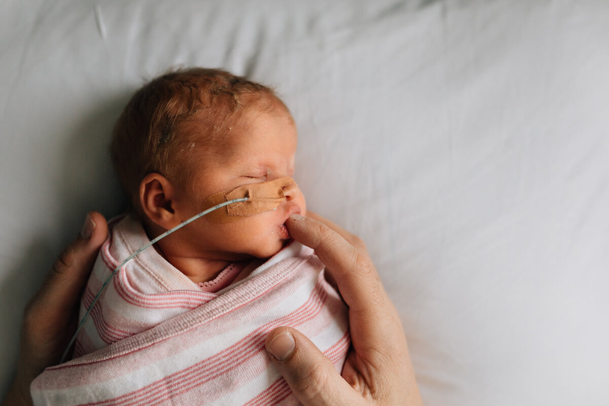 baby with feeding tube In hospital Fresh 48 photography Melbourne And So I Don't Forget Photography