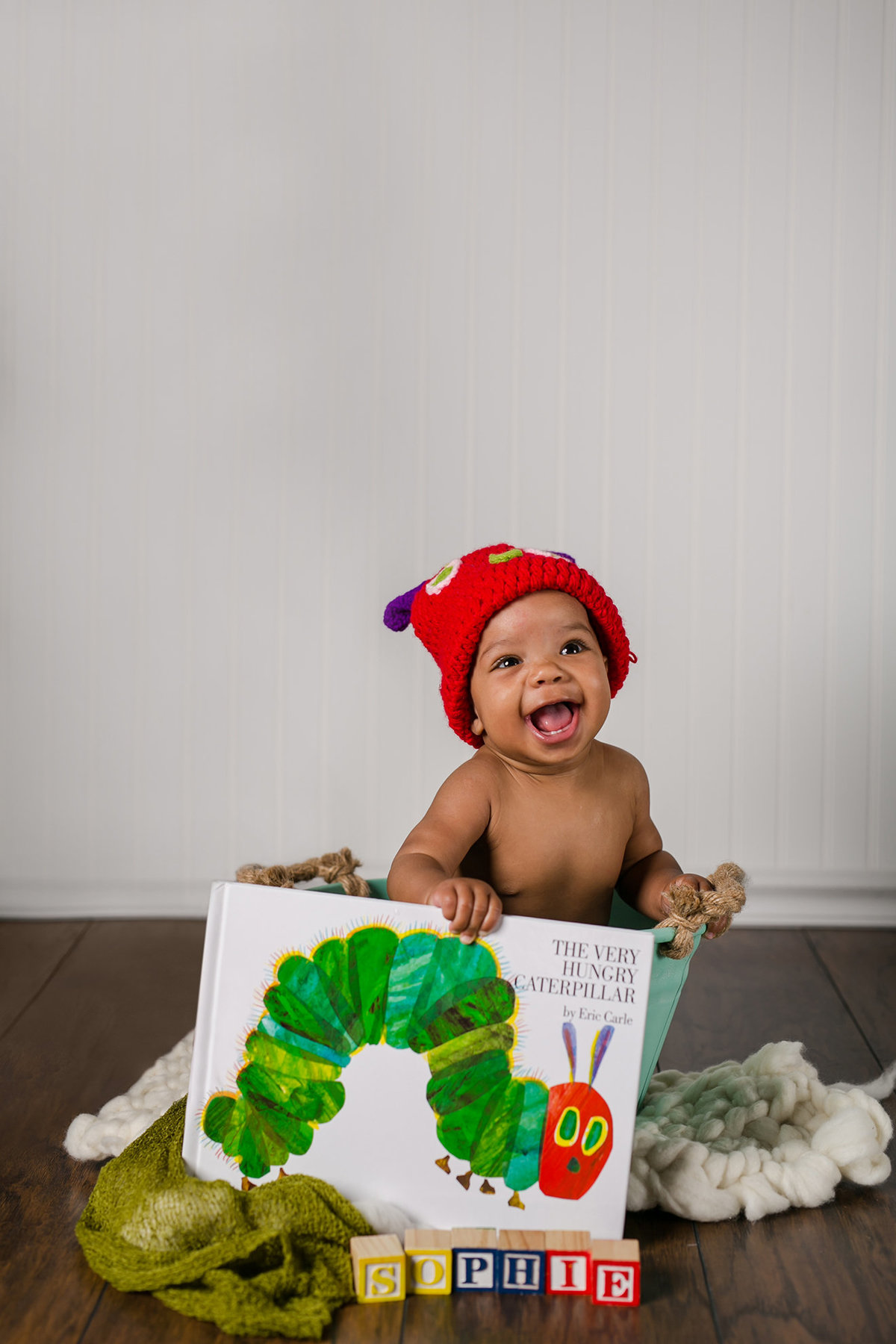 photo shoot idea hungry caterpillar