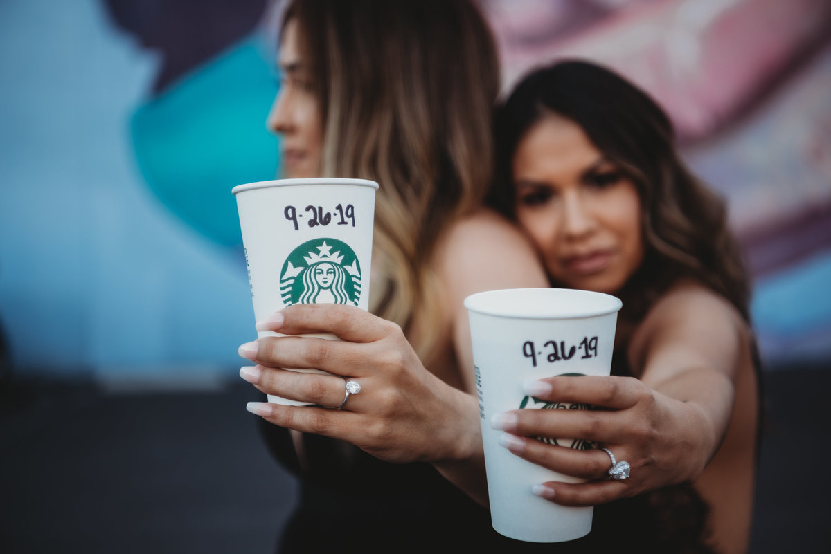 Sara and Vanessa-DTLA Engagement Session15