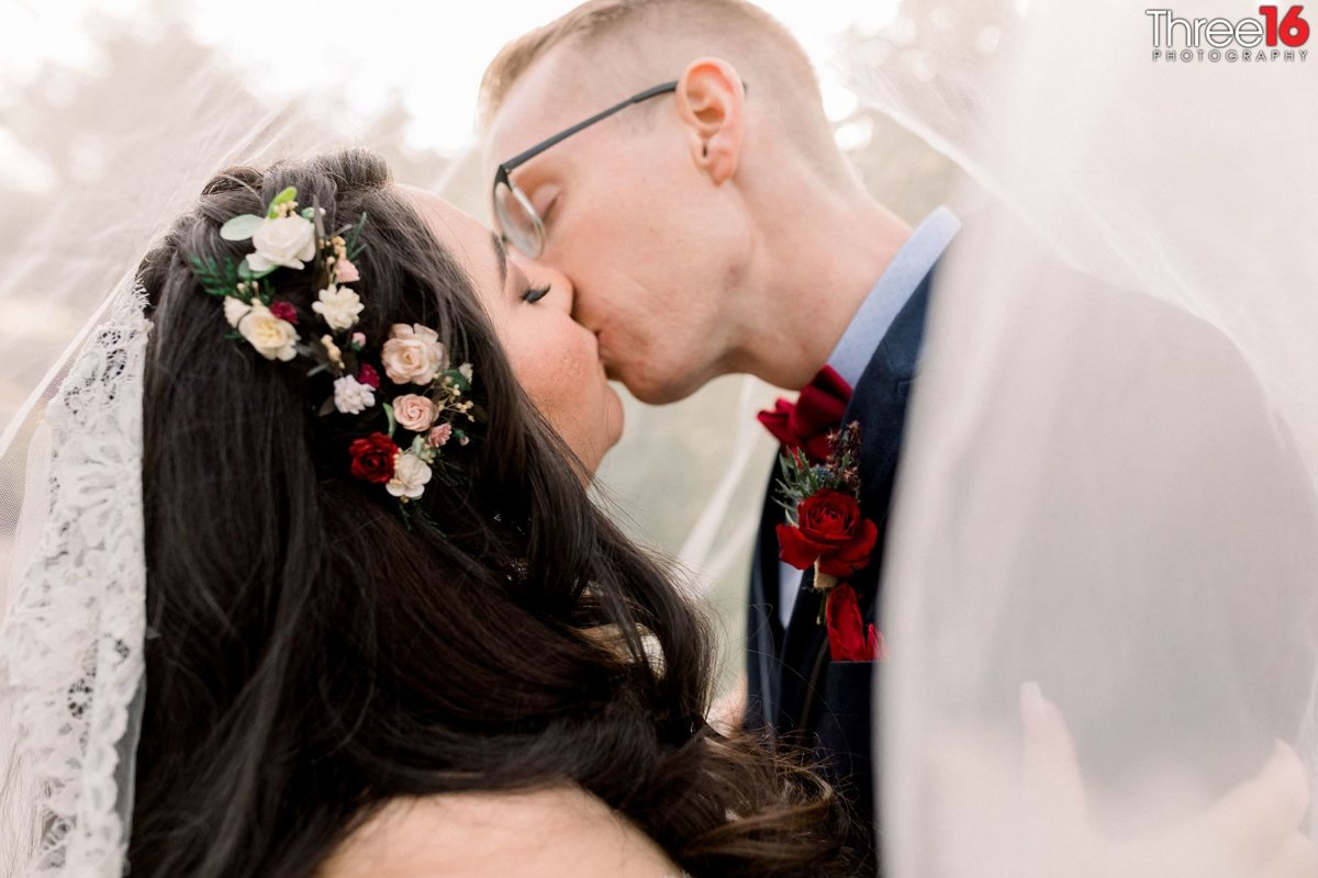 First kiss between Husband and Wife