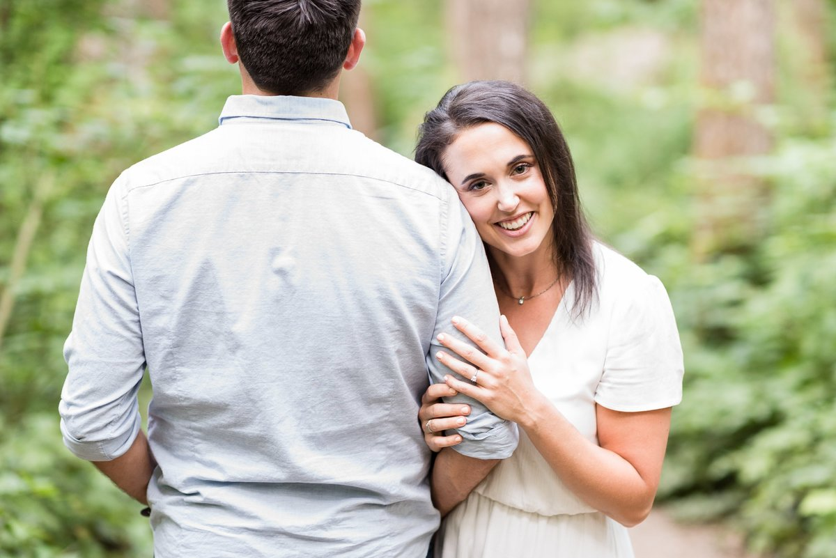 Rattlesnake Lake Engagement Session - 45