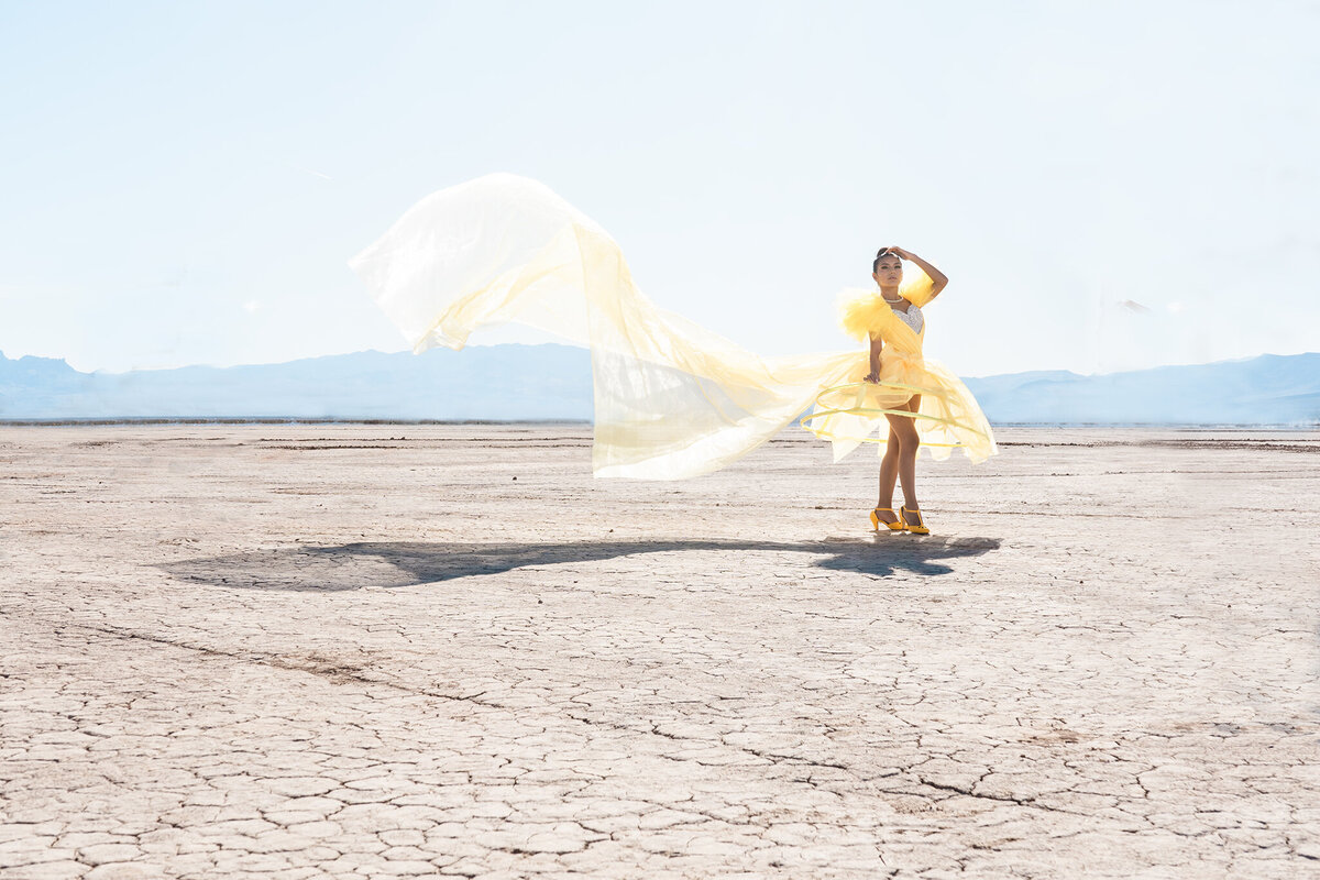 Project Obscura-Yellow Dress-Chloe Darling Photography