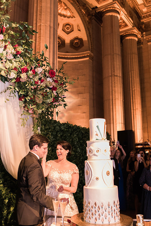 Washington-DC-museum-wedding-art-nouveau-cake