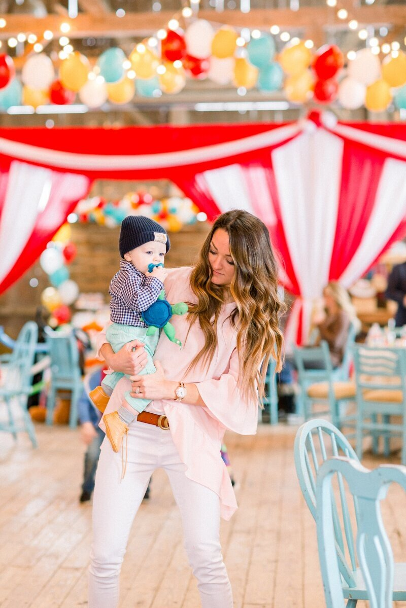 Circus Themed 1st Birthday Indianapolis Party Planner_0143