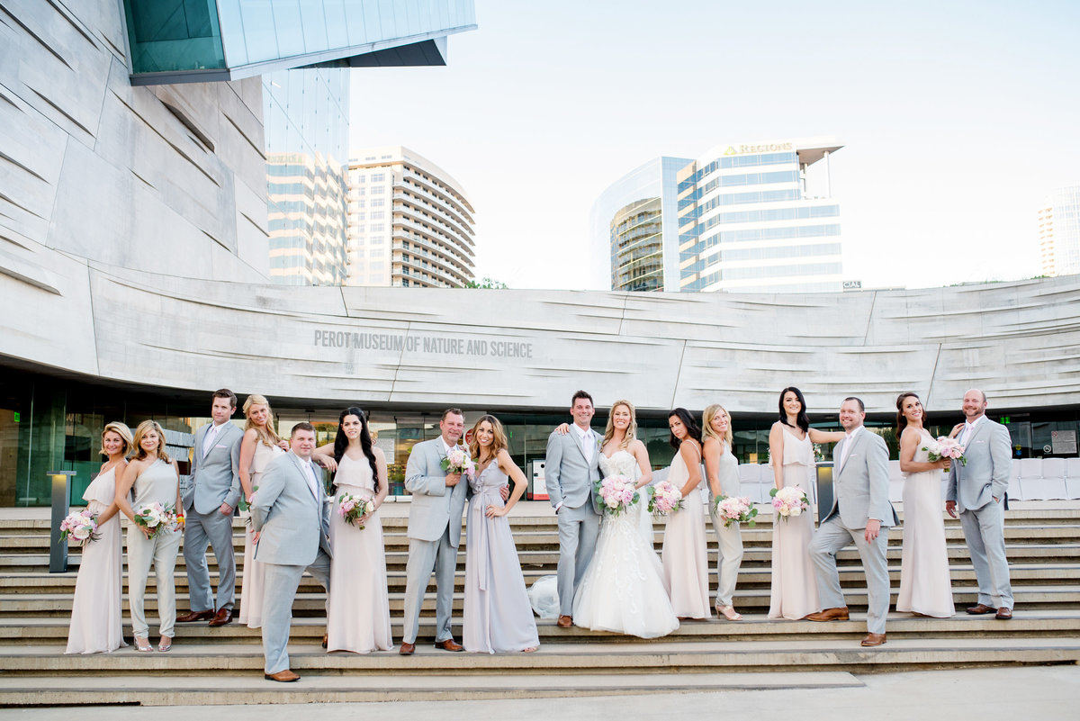 Perot Museum Wedding 5