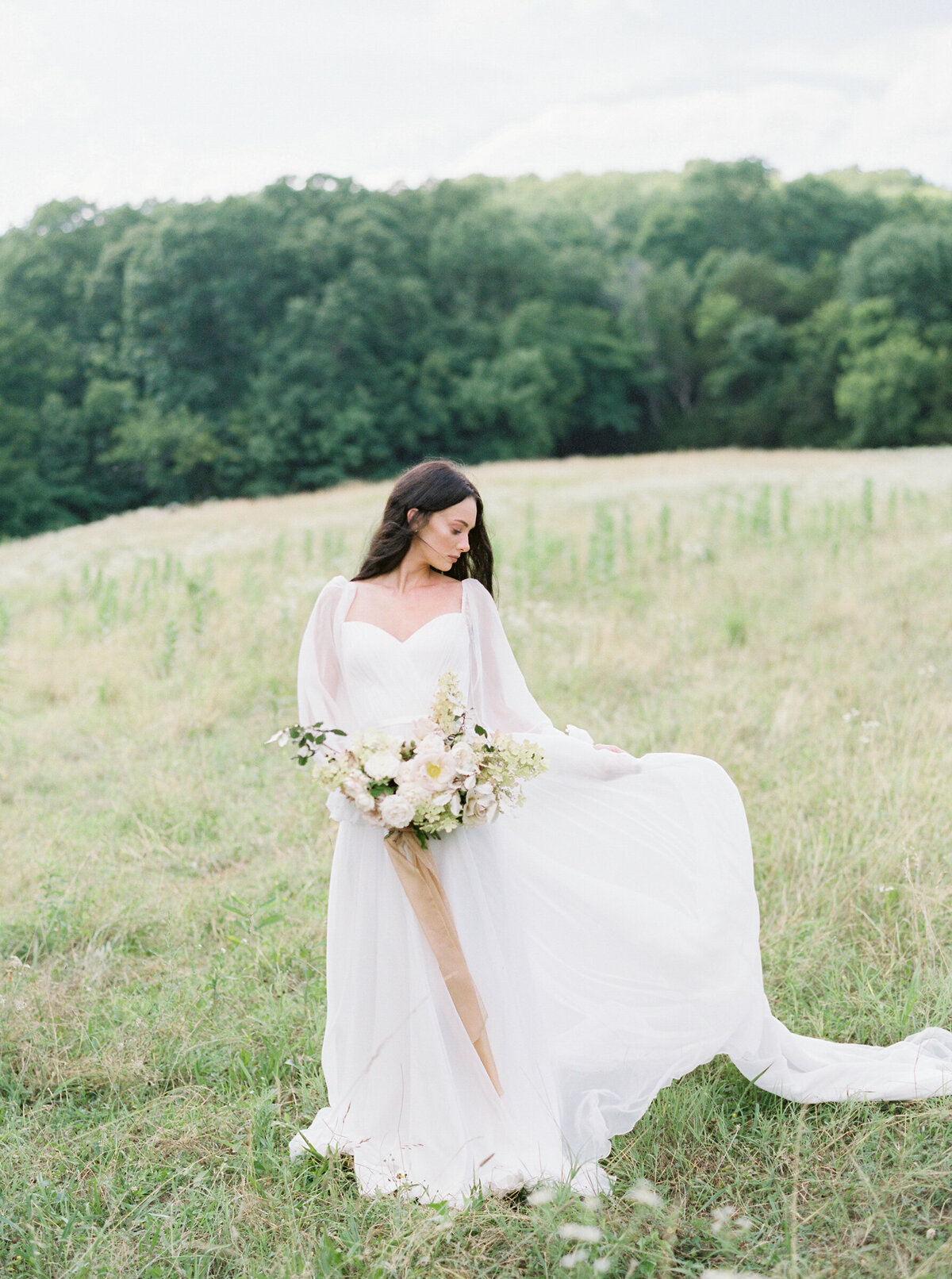 Madeline Trent Fine Art Wedding Photographer Bloomsbury Farms