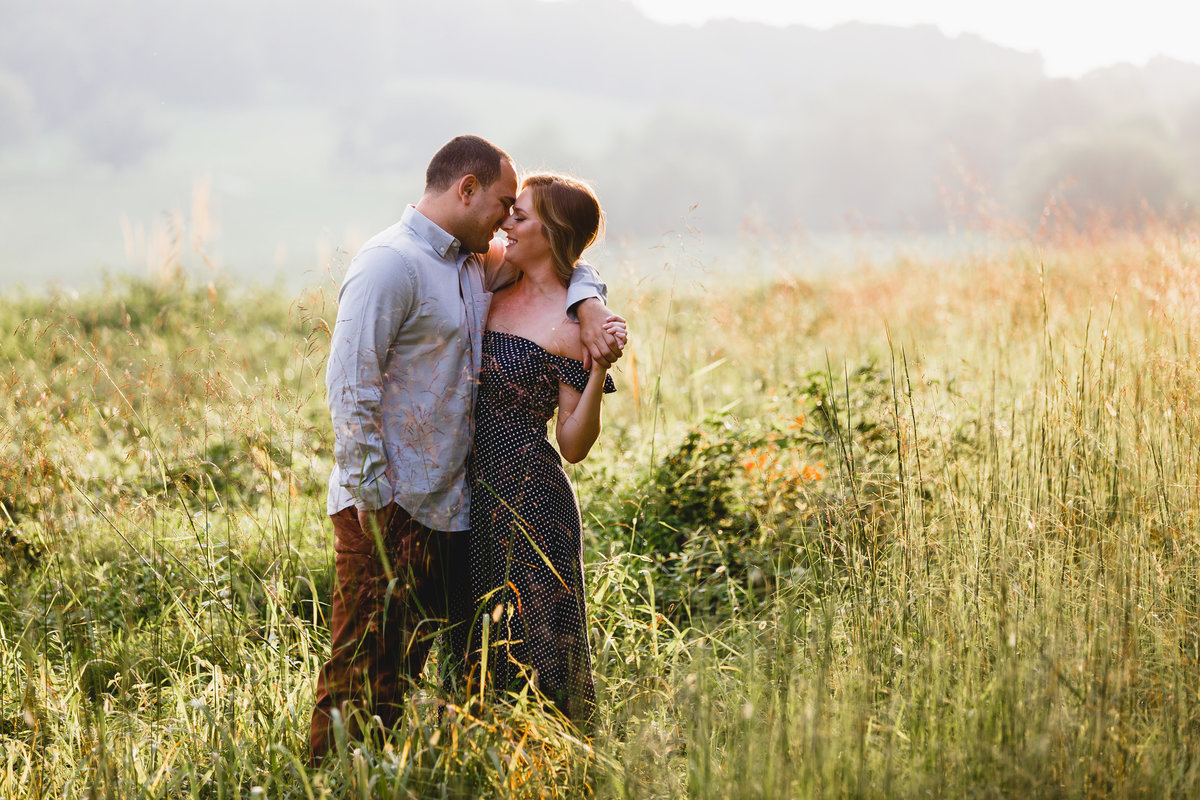 Valley Forge Park Engagement Session Photography 12
