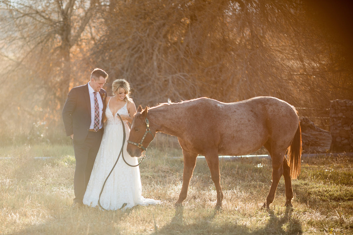 Everett Ranch Rocky Mountain Wedding Outdoor Barn Rustic Salida Colorado Alpaca Collegiate Peaks Vintage Ranch Fish 008