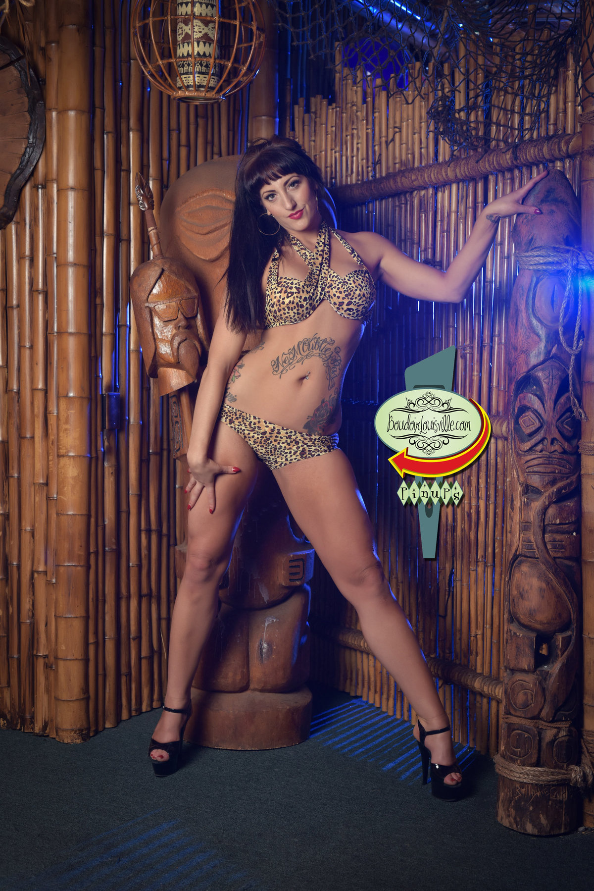 Boudoir Louisville - Las Vegas Pinup Girl Photography - Frankie's Tiki Bar-8 copy