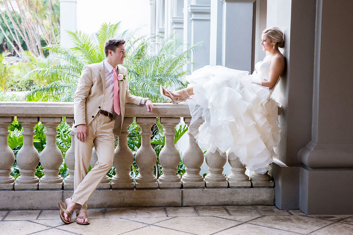 ritz carlton naples florida wedding photo