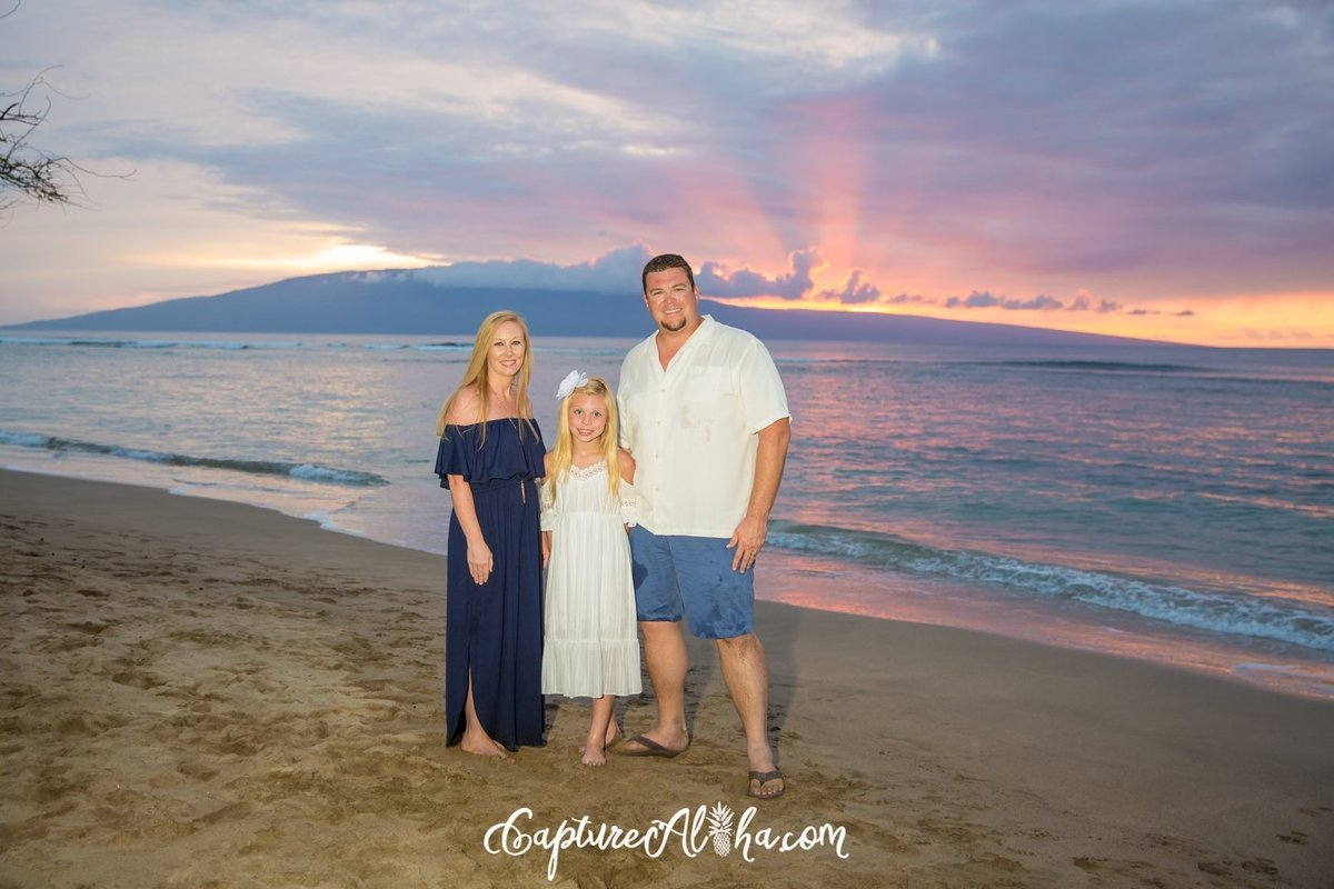 Family-Portrait-Maui-Baby-Beach-Sunset-1