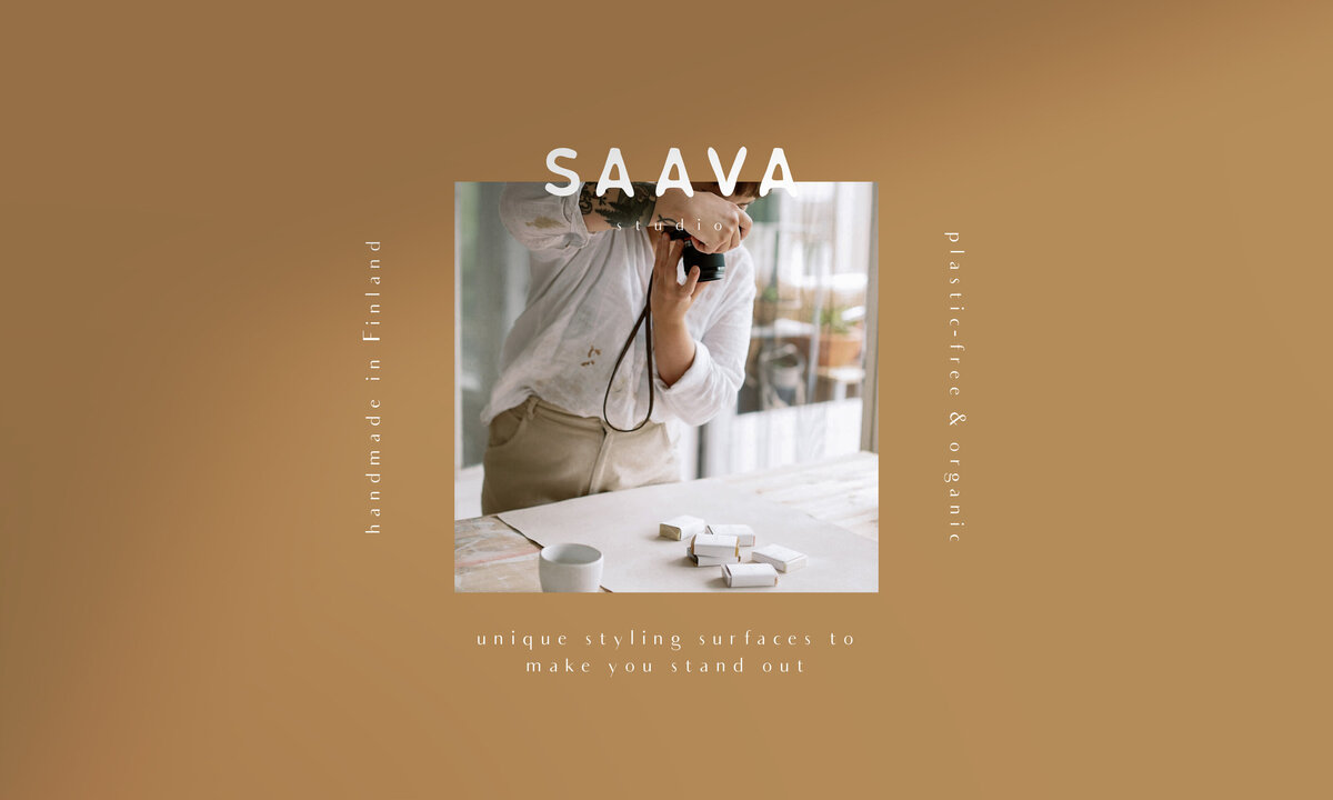 Saava Studio - brand book samples 4 - hnstly